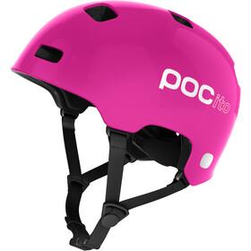 POC POCito Crane Cykelhjelm Børn, fluorescent pink